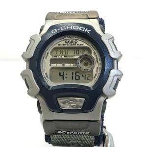 中古 G-SHOCK ジーショック CASIO カシオ 腕時計 DW-004X-2BT X-treme エクストリーム デジタル グレー シルバー RY5488