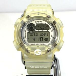 美品 G-SHOCK ジーショック CASIO カシオ 腕時計 DW-8600KJ-7T イルクジ 1998年 第7回 イルカ クジラ RY5485
