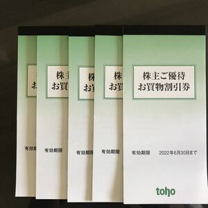 ☆トーホー株主優待券 25000円分(100円×250枚) 送料無料☆