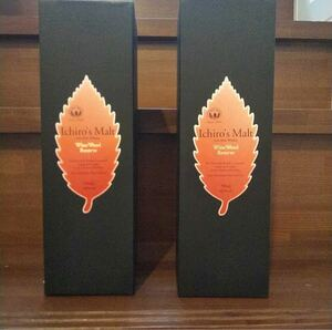 イチローズモルト ワインウッドリザーブ  ベンチャーウイスキー  箱付き 秩父蒸溜所 ウイスキー 2本セット