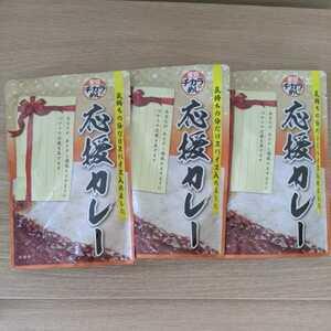 ★未開封★東京チカラめし 応援カレー(180g)×3袋 賞味期限:2022.10.11
