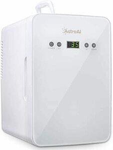 限定価格!ホワイト AstroAI 冷蔵庫 小型 ミニ冷蔵庫 小型冷蔵庫 冷温庫 6L 2℃~60℃温度調整可能 化粧品 1FZL