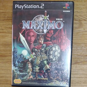 【PS2】 MAXIMO マキシモ PS2ソフト