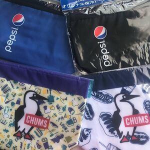 チャムス保冷バック&ペプシ保冷バッグ 4品セット