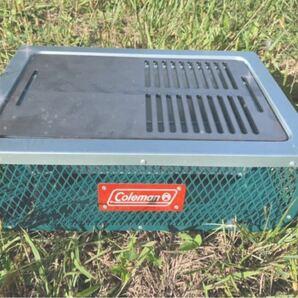 ヘラ付き コールマン クールステージ 6mm 鉄板 キャンプ アウトドア バーベキュー BBQ