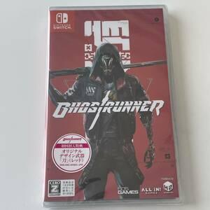 Ghostrunner Switch版 Nintendo Switch ゴーストランナー スイッチ HAC-P-AY8DC Switchソフト 初回封入特典 新品 未開封 ghost runner