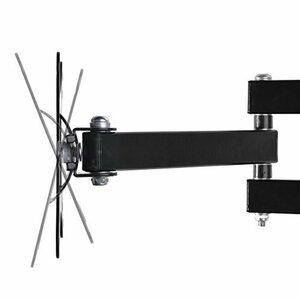 限定価格ブラック モニター テレビ壁掛け金具 10-30インチ LCDLED液晶テレビ対応 アーム式 回転式 左右移動式PP35