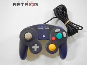 ゲームキューブコントローラ(バイオレット&クリア) ゲームキューブ NGC