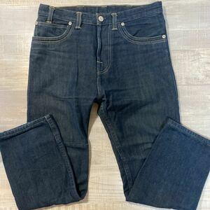 【サイズ34 ヨーロッパ製 濃紺】LEVI'S RED デニム パンツ インディゴ リーバイス レッド クロアチア メンズ ビンテージ