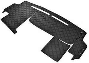 トヨタ ノア ヴォクシー ZRR70系 ダッシュマット ダッシュボード マット ダイヤカット ステッチ ブラック キルティング キ