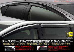 三菱 ekワゴン ekクロス サイドバイザー ドアバイザー[年式:平成31年3月~][型式:B33W/34W/35W/36W/37