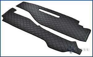 日産 セレナ C27 ダッシュマット ダッシュボード マット ダイヤカット ステッチ ブラック キルティング キルト PVC