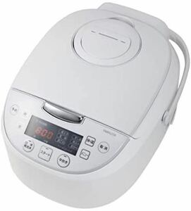 [山善] 炊飯器 5.5合 ホワイト YJD-M550(W) マイコン式 保温