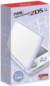任天堂 Newニンテンドー2DS LL 【ホワイト×ラベンダー】《新品》