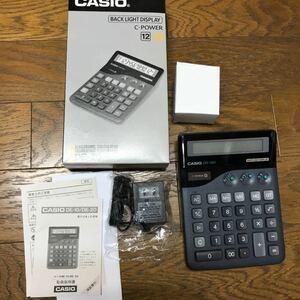美品 CASIO(カシオ)の電卓 DE-20(12桁)