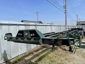 Tokyu 40ft container chassis -