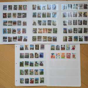 ★〈使用済切手〉第2次世界遺産シリーズ 満月印多く含む 全11集 110種 2001年~2003年(平成13年~平成15年)日本切手 使用済み切手 R310