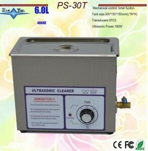 6リットル 超音波洗浄機 超音波洗浄器 6L レコード洗浄 業務用