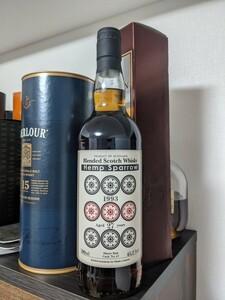 ヘンプスパロー 九筒 ブレンデッドウイスキー 1993 27年 45.2%