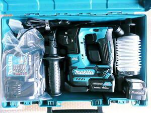 1円~未使用新品 マキタ 16mm 充電式ハンマードリル 10.8V HR166DSMX ♪バッテリー×2 充電器 コードレスハンマドリル 電動工具 フルセット