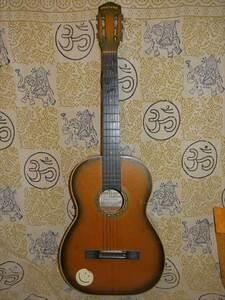 昭和レトロ フォークギター クラシックギター MONTANO GUITAR NO.40 日本製 現状