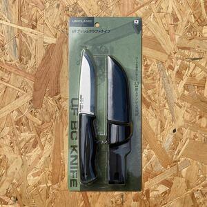 新品 未使用 未開封 ユニフレーム uniflame UF ブッシュクラフトナイフ キャンプ ナイフ キャンプ バトニング