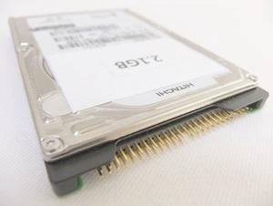 【保証付・送料198円~】NEC製PC-98ノートシリーズ用内蔵2.5インチHDD 2.1GB 保証付 信頼の日立製HDD 予備やバックアップに動作確認済