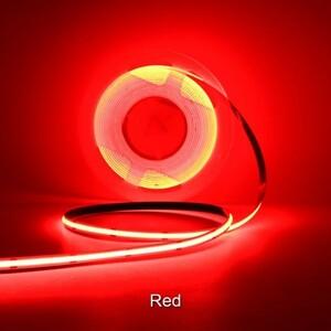 【送料無料】LEDラインテープ 12ボルト用 赤色発光 Red 2メートル