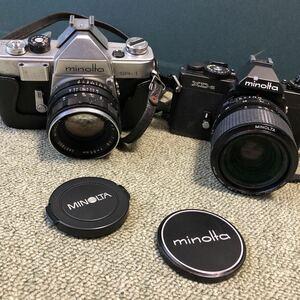 MINOLTA 【カメラ二台セット】MINOLTA XD-s 35-70mm 1:3.5 MINOLTA SR-1 1:1.8 f=55mm 2457850
