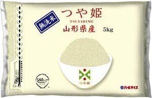 無洗米5kg 【精米】 [Amazon限定ブランド] 580.com 山形県産 無洗米 つや姫 5kg 令和2年産