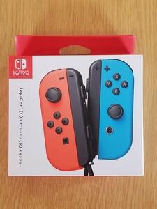 ジョイコン Joy-Con(L)ネオンレッド/(R)ネオンブルー 純正品 HAC-A-JAEAA Nintendo Switch