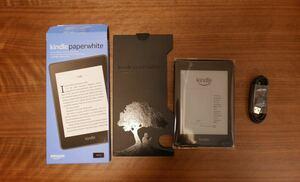 Kindle Paperwhite(第10世代)、開封未使用、32GB、電子書籍リーダー、防水機能搭載、Wi-Fi 、広告つき