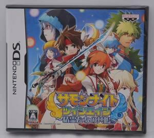 【新品】Nintendo DS ソフト「サモンナイト ツインエイジ 精霊たちの共鳴」 検索:NDS Summon Night Twin Age NTR-P-AS7J(JPN) 未開封