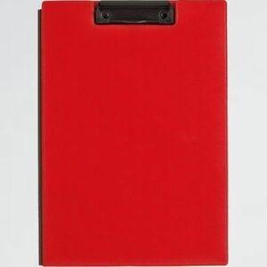 好評 新品 クリップボ-ド キングジム 5-C4 赤 1932LF赤 レザフェス A4