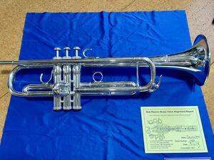 希少極美品 S.E.Shires シャイアーズ B♭管トランペット Model CMW ボブリーブスバルブアライメント済