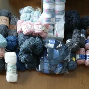 毛糸玉 コットン 毛 いろいろ 大量 50個以上 まとめ売り