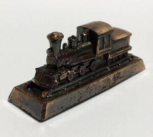 【ネコポス簡易梱包】交通博物館*ペーパーウェイト*文鎮*SL 蒸気機関車*鉄道*置物*オブジェ*オーナメント*ミニチュア