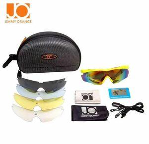 偏光レンズ スポーツサングラス フルセット専用交換レンズ5枚
