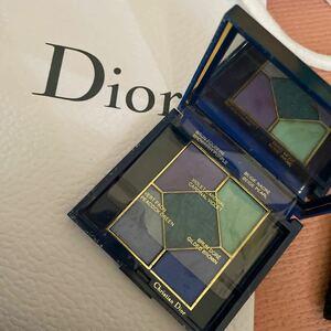 【 ディオール Dior クリスチャンディオールブルー系アイシャドウ】