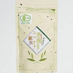 好評 新品 宮崎茶房(有機JAS認定、無農薬栽培)、有機紅茶(ティ-バッグ2g×30p)、 DS