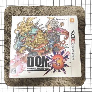 ドラゴンクエストモンスターズジョーカー3 3DS DQM3 中古