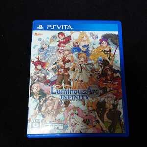 PS Vita ソフト ルミナスアーク インフィニティ SRPG 切符