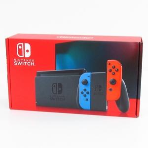 ニンテンドースイッチ 本体 Nintendo Switch Joy-Con(L) ネオンブルー/(R) ネオンレッド (バッテリー持続時間が長くなったモデル) ■A4514