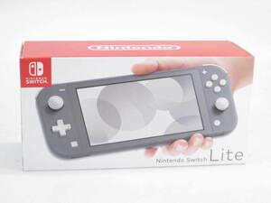 未使用 Nintendo Switch Lite グレー ニンテンドースイッチ ライト 本体 #US2594