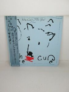 12inchシングル盤レコード)The Cure/WHY CAN'T I BE YOU? (13MM 7047)【M004】