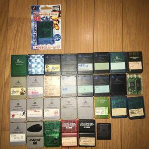 メモリーカード PS2 SONY プレイステーション まとめてセット