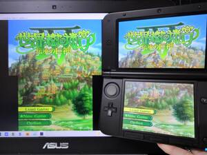 ゲーム実況配信用『キャプチャー機能付き NINTENDO 3DSLL』 モンハン限定本体 偽トロ