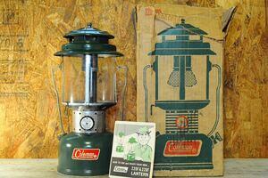 Coleman 220F Lantern 10/71 / コールマン ランタン 外箱付き 燃焼確認済み 200 228 286 242 288 290 ノーススター