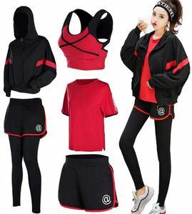 【新品】 Seeya スポーツウェア レディース ヨガウェア トレーニングウェア 5点セット