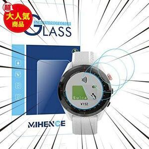 Smartwatchスマート腕時計 2.5Dラウンドエッジ ウォッチ指紋防止保護膜 Compatible ガラス保護フィルム Approach Approach Mihence
